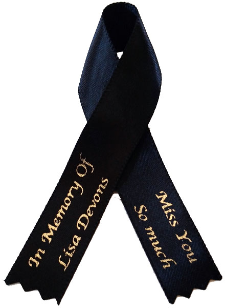 Awareness Ribbon - Multi LIne