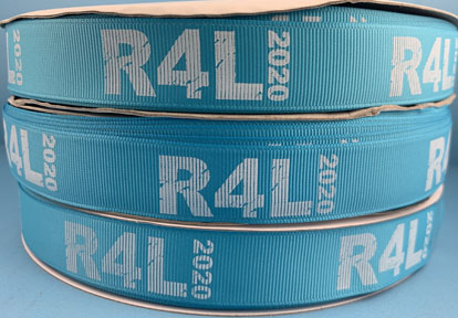 Grosgrain Logo Ribbon